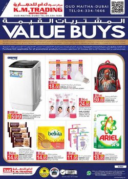 Groceries offers in the KM Trading catalogue ( Expires tomorrow)