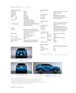Offers of Suspension in Lexus