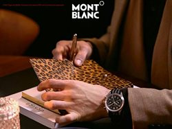 Montblanc offers in the Dubai catalogue