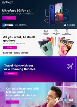 Offers of Samsung Galaxy in Du