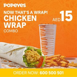 Restaurants offers in the Popeye's catalogue ( 19 days left)