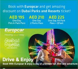 Cars, Motorcycles & Accesories offers in the Europcar catalogue ( 2 days left )