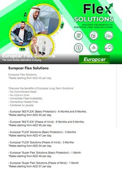 Europcar offers in the Europcar catalogue ( 9 days left)