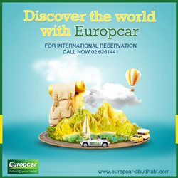Cars, Motorcycles & Accesories offers in the Europcar catalogue in Abu Dhabi