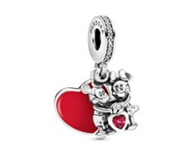 Disney Mickey Mouse & Minnie Mouse Love Dangle Charm offer at 345 Dhs