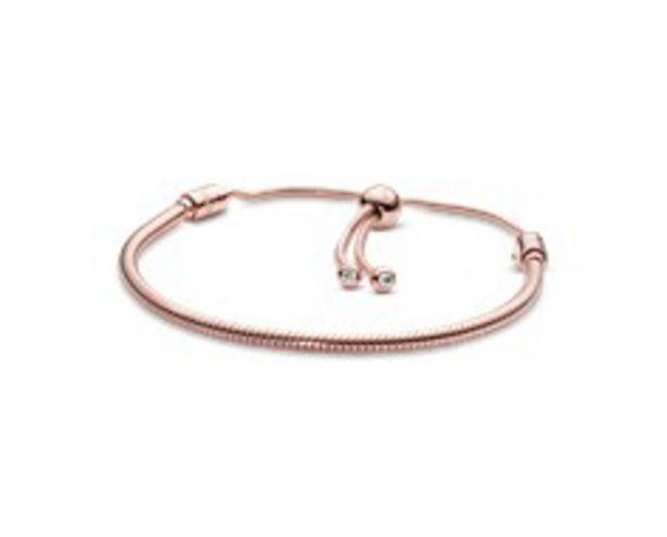 Pandora Moments Snake Chain Slider Bracelet offer at 745 Dhs
