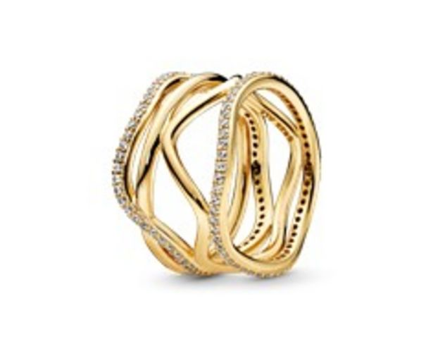 Swirling Lines Ring offer at 745 Dhs