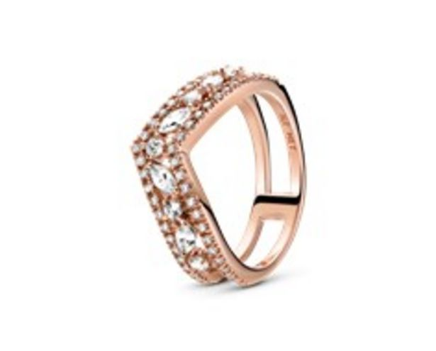 Sparkling Marquise Double Wishbone Ring offer at 595 Dhs