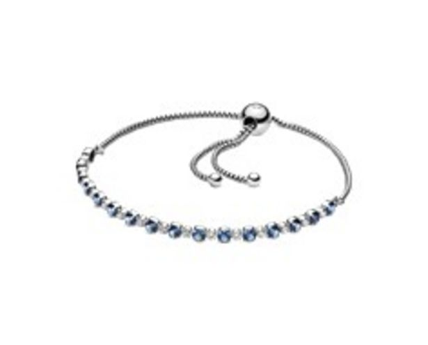 Blue & Clear SparkleSlider Bracelet offers at 295 Dhs
