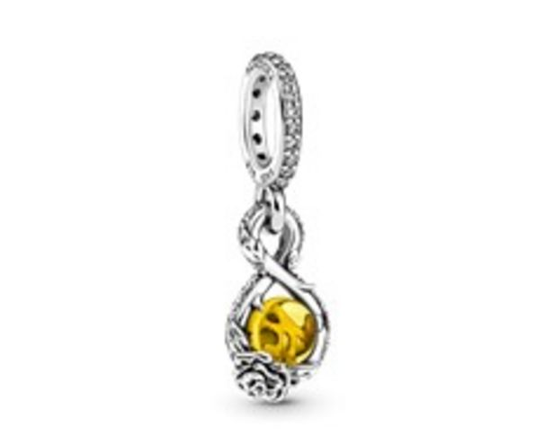 Disney Belle Infinity & Rose Flower Pendant offers at 295 Dhs