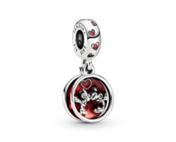 Disney Mickey Mouse & Minnie Mouse Love and Kisses Dangle Charm offer at 295 Dhs