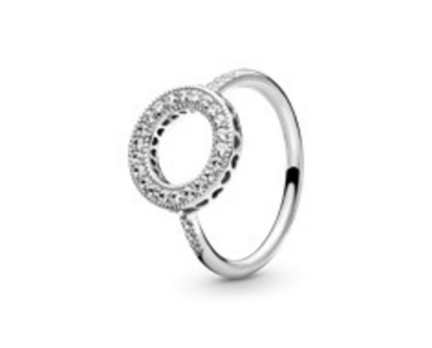 Sparkling Halo Ring offer at 345 Dhs