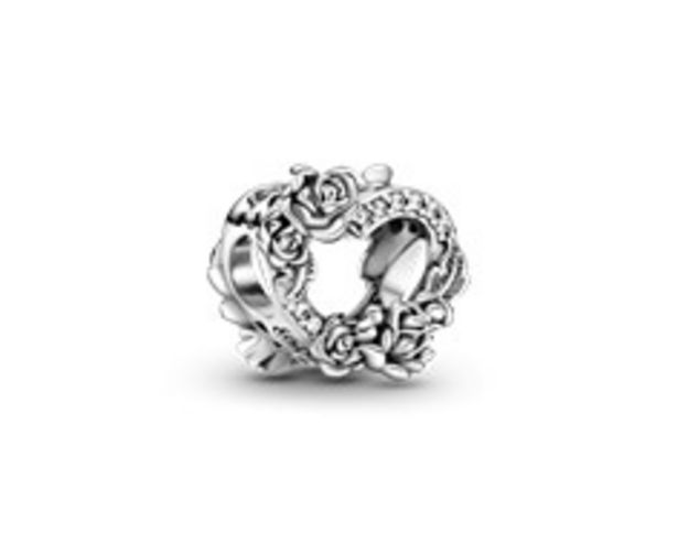 Open Heart & Rose Flowers Charm offers at 195 Dhs