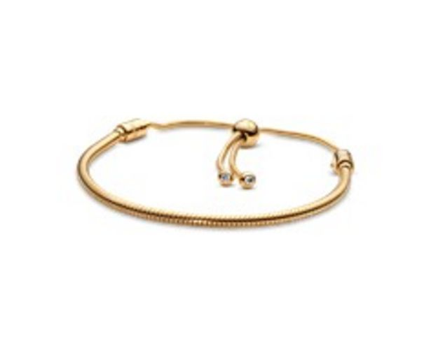 Pandora Moments Snake Chain Sliding Bracelet offer at 895 Dhs