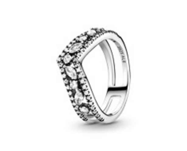 Sparkling Marquise Double Wishbone Ring offers at 445 Dhs