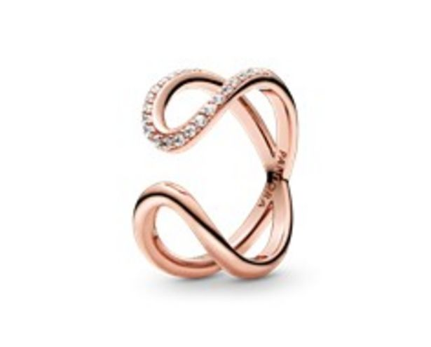 Wrapped Open Infinity Ring offer at 345 Dhs