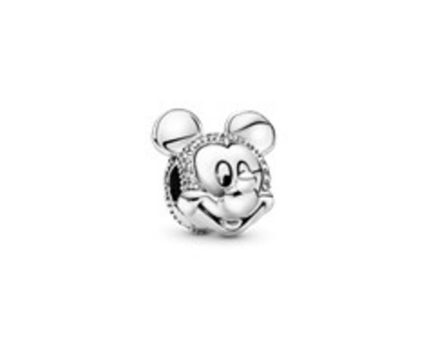 Disney Mickey Mouse PavéClip Charm offer at 395 Dhs