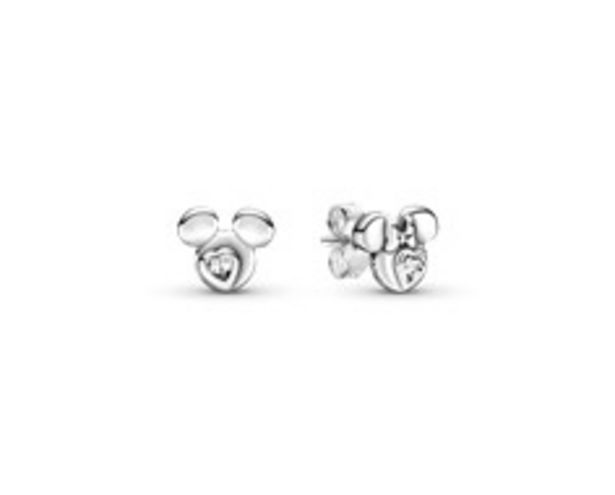 Disney Mickey Mouse & Minnie Mouse Silhouette Stud Earrings offer at 245 Dhs