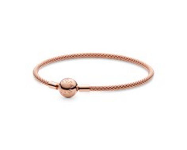 Pandora Moments Mesh Bracelet offer at 745 Dhs