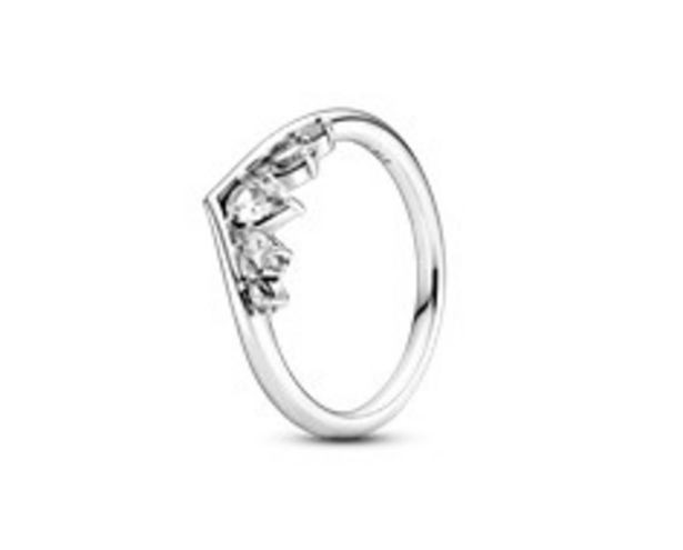 Sparkling Pear & Marquise Wishbone Ring offers at 395 Dhs