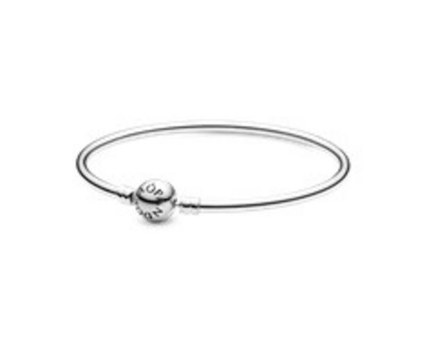 Silver bangle bracelet offer at 295 Dhs