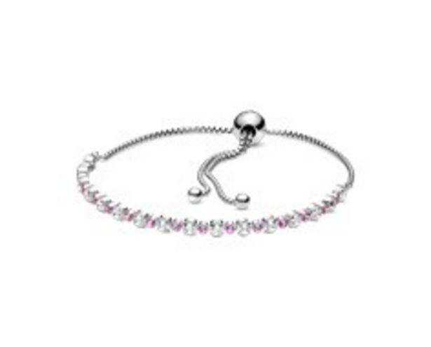 Pink & Clear Sparkle Slider Bracelet offers at 275 Dhs