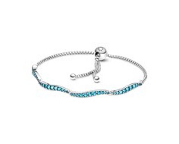 Blue Wavy Slider Bracelet offers at 345 Dhs