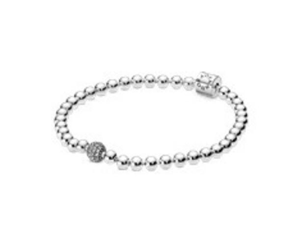 Beads & Pavé Bracelet offers at 345 Dhs