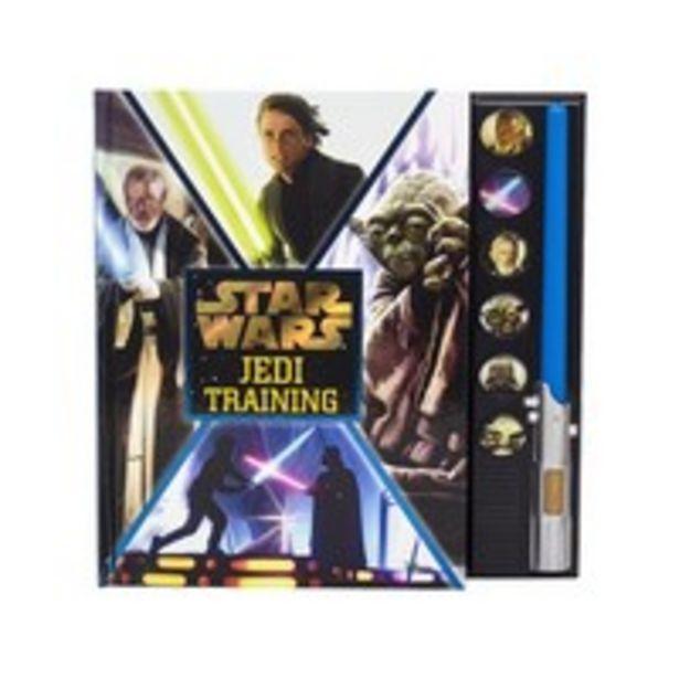 Disney Star Wars Jedi Training Lightsaber Sound Book 1 Lightsaber 6 Sounds offer at 54 Dhs