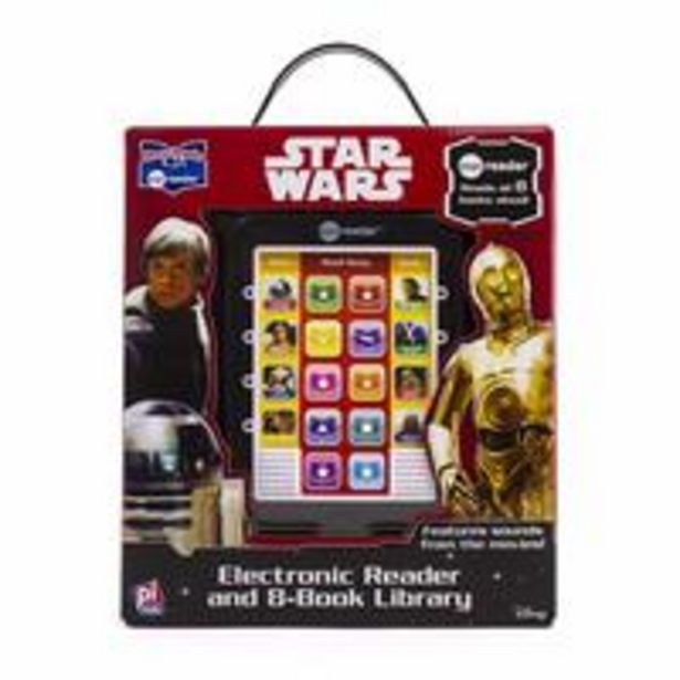 Disney Star Wars Saga - Me Reader Electronic Reader and 8-Book Library offer at 70 Dhs