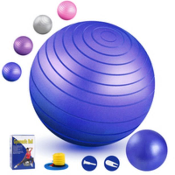 Tomshoo-Yoga Ball offer at 31 Dhs