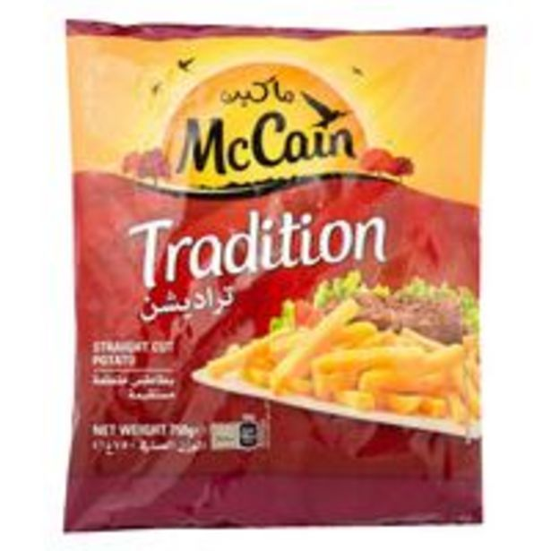 McCain Frozen Fries Tradition 750g offer at 12,9 Dhs