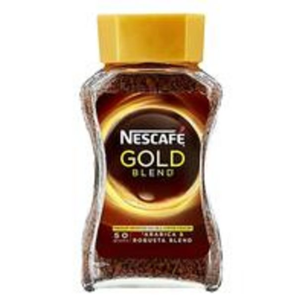 Nescafe Gold Instant Coffee 50g offer at 9,75 Dhs