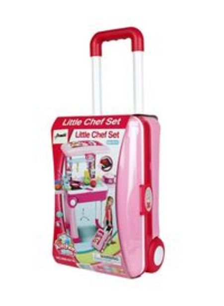 Chamdol Little Chef Trolly Set offer at 47,89 Dhs