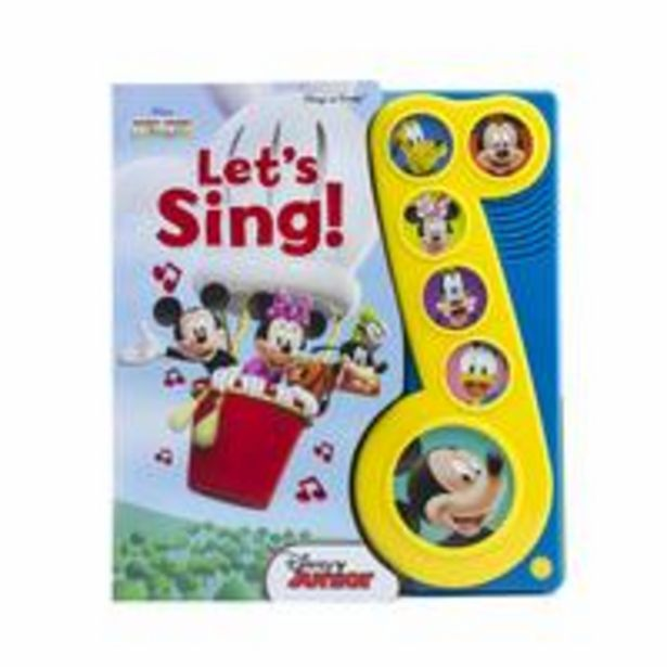 Disney Mickey Mouse Clubhouse - Let's Sing! Little Music Note Sound Book offer at 79 Dhs