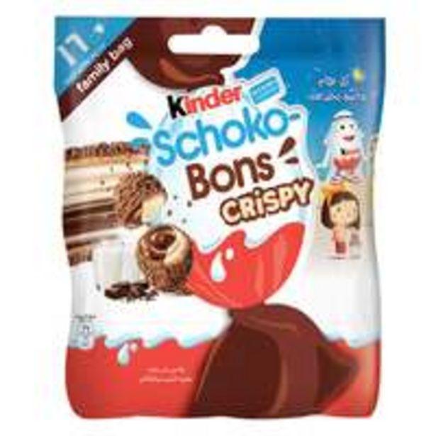 Kinder Schoko Bons Crispy Chocolate 89g offer at 10,85 Dhs