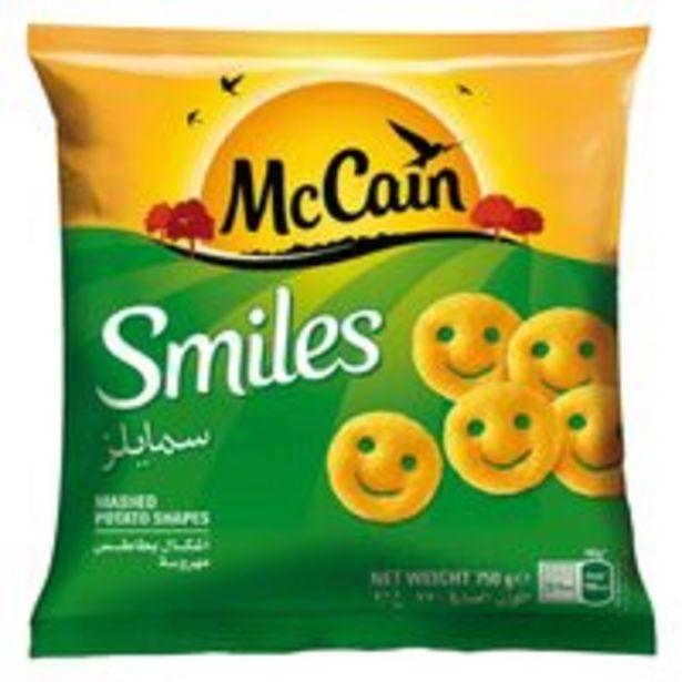 McCain Frozen Smiles Potato 750g offer at 16,5 Dhs