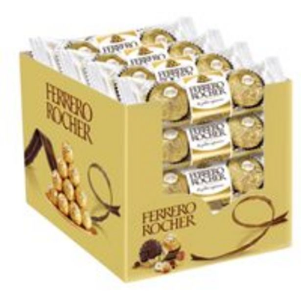 Ferrero Rocher Chocolate 37.5g x Pack of 16 offer at 74 Dhs