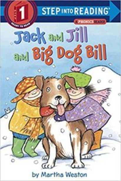 Martha Weston Jack And Jill And Dog Bill: Step Into Reading 1 - Paperback – Picture Book, 15 January 2002 offer at 35,63 Dhs