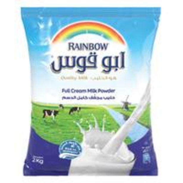 Rainbow Full Cream Milk Powder 2kg offer at 40,1 Dhs