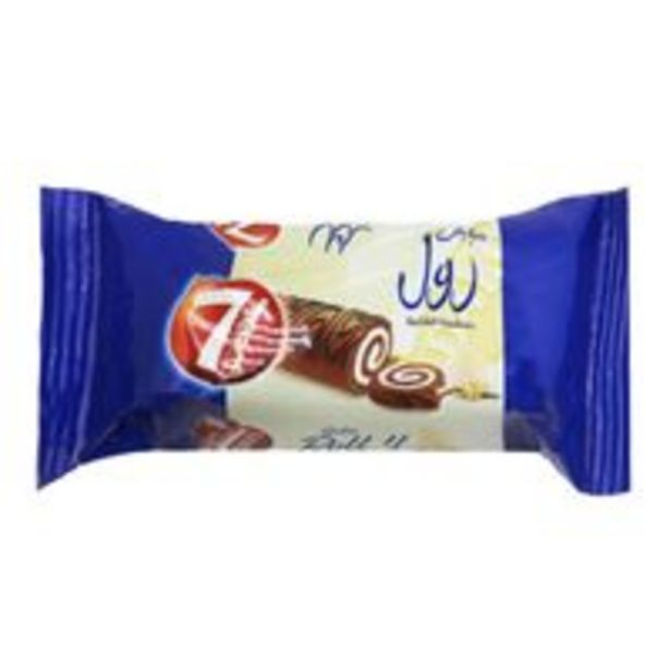 7 Days Swiss Roll with Vanilla Filling 20g offer at 0,5 Dhs