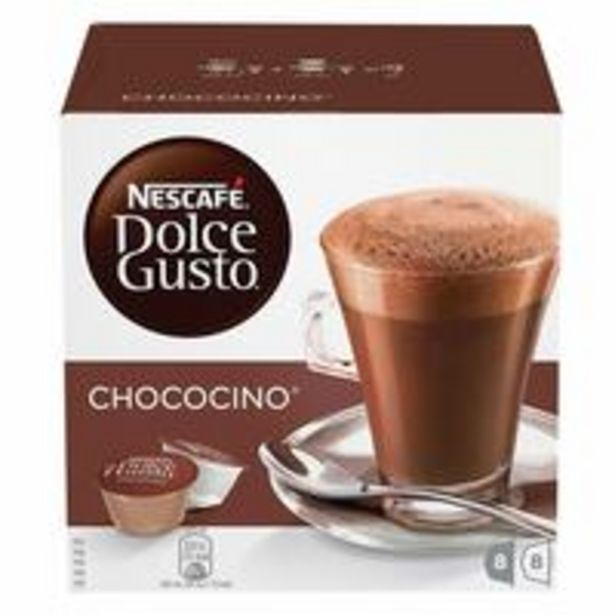 Nescafe Dolce Gusto Chococino Coffee 256g (16 Capsules) offers at 40,5 Dhs