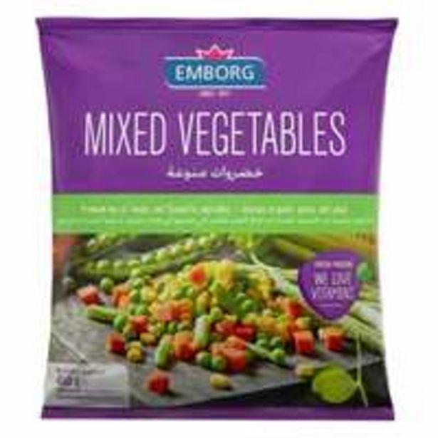 Emborg Frozen Mix Vegetable 450g offer at 7,7 Dhs