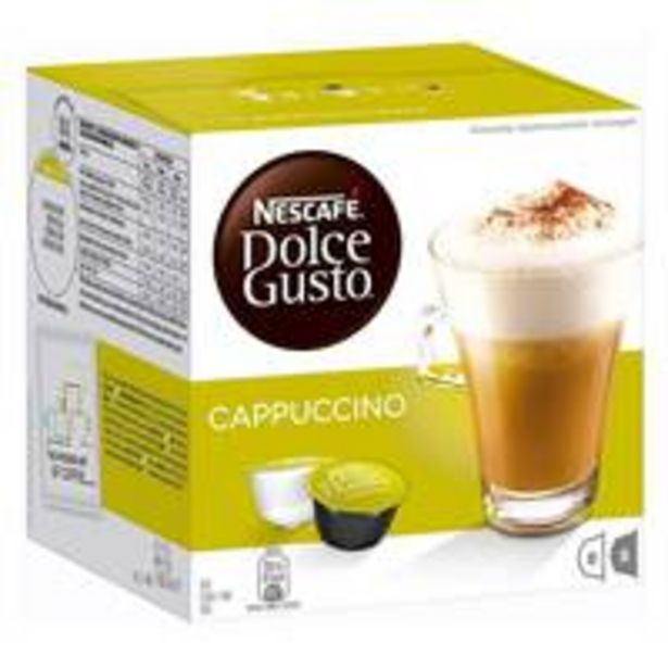 Nescafe Dolce Gusto Cappuccino Coffee 186g (16 Capsules) offers at 40,7 Dhs