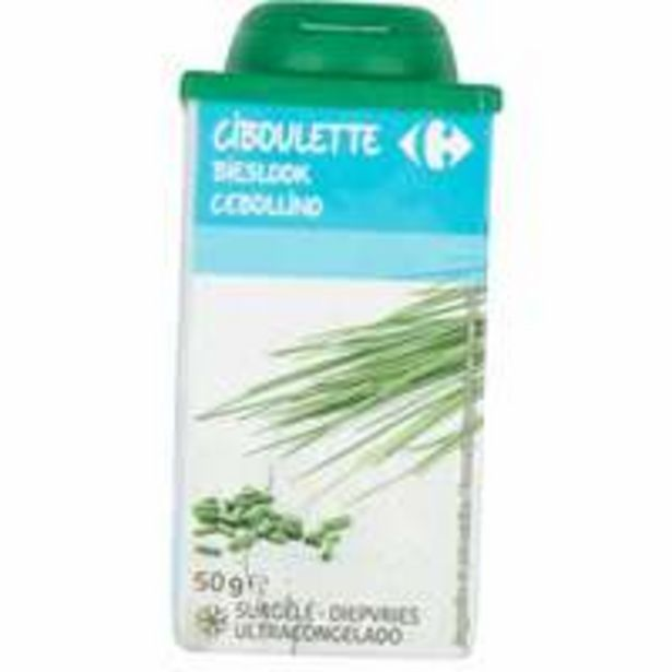 Carrefour Chive Frozen 50g offer at 7,95 Dhs