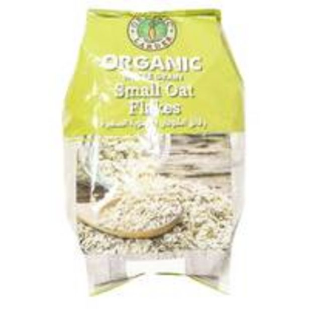 Organic Larder Small Oat Flakes 500g offers at 8,5 Dhs