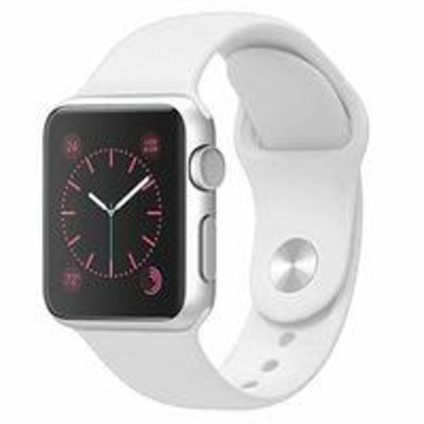 Generic - Apple Watch Band 38mm 40mm Soft Silicone Strap White offer at 14,5 Dhs
