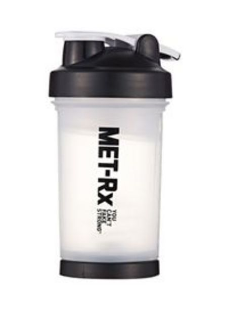 Generic Protein Shaker Bottle - 700 ml 700ml offer at 30 Dhs