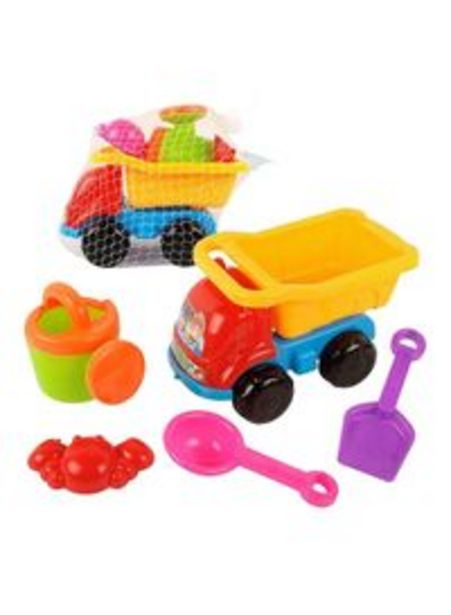 Real Star Star 5-Piece Beach Truck Toy Set offer at 20,15 Dhs