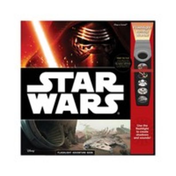 Disney Star Wars the Force Awakens Flashlight Adventure Sound Book offer at 47 Dhs